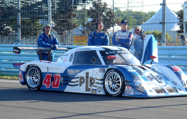 Randy and the crew at Watkins Glen before the Grand Am race in Augu 2006